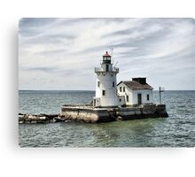 Cleveland West Breakwater Lighthouse Canvas Print