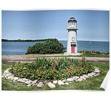 Camp Patmos Lighthouse Poster