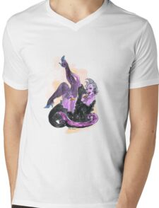 Ursula The Pin Up Girl Mens V-Neck T-Shirt