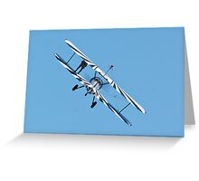 Budget Airfare Greeting Card