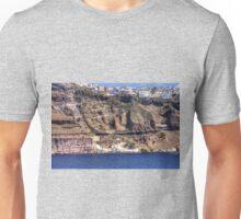 Cliffs of Santorini Unisex T-Shirt