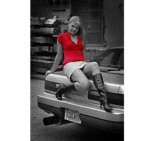 My car, My model Photographic Print