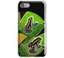 Amazonian Aboriginal Frog  iPhone Case/Skin