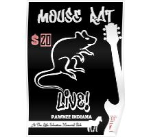 Mouse Rat Concert Poster Poster