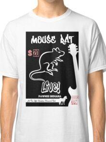 Mouse Rat Concert Poster Classic T-Shirt