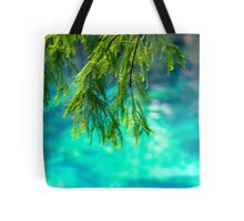 Cypress Leaves Tote Bag