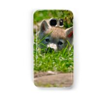 Who Me?? Arctic Wolf Pup Samsung Galaxy Case/Skin