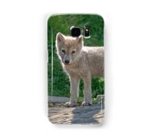 Arctic Wolf Pups  Samsung Galaxy Case/Skin
