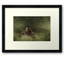 Forget Your Troubles Framed Print