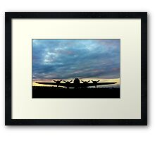 Tucked in for the Night! Framed Print