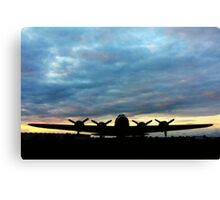 Tucked in for the Night! Canvas Print