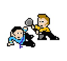 8bit Spock Kirk Amok Time no text by miffed