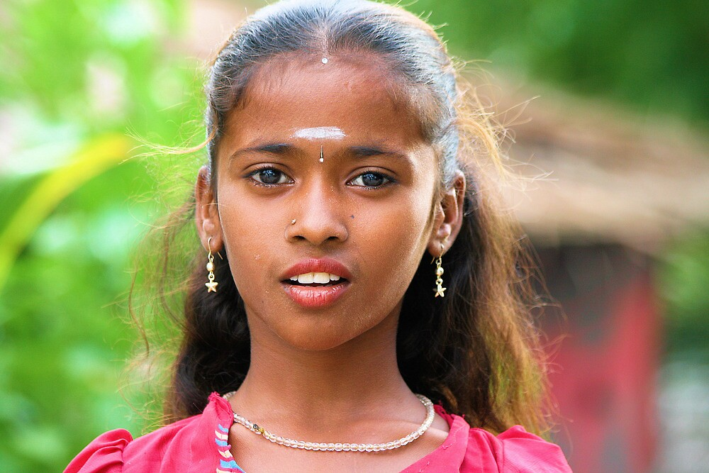 Ajeeta,  Indian Gypsy girl by joshuatree2