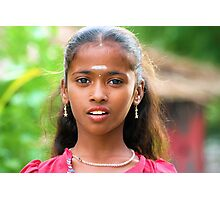 Ajeeta,  Indian Gypsy girl Photographic Print