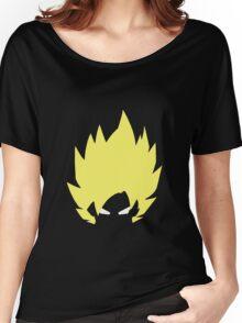 goku kakarot super saiyan anime manga shirt Women's Relaxed Fit T-Shirt