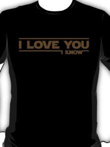 Star Wars - I Love You T-Shirt