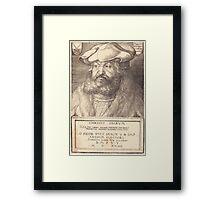 Albrecht Dürer or Durer Frederick the Wise, Elector of Saxony Framed Print