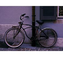 Bicycles in Focus Series Photographic Print