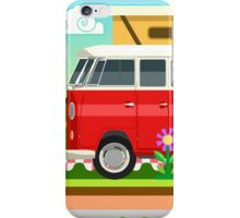 Summer Holiday 3D Picnic Flat Set iPhone Case/Skin