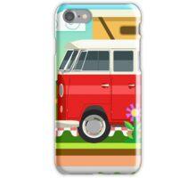 Summer Holiday 3D Picnic Flat Set iPhone Case/Skin