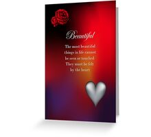 Beautiful Greeting Card