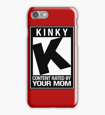 RATED K for KINKY iPhone Case/Skin