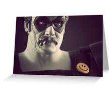 Edward Blake/The Comedian Greeting Card