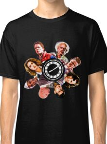 BTTF: Clock Tower MIX (saturated version) Classic T-Shirt