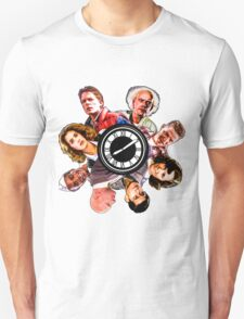 BTTF: Clock Tower MIX (saturated version) Unisex T-Shirt