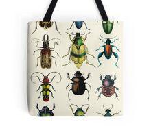Jeweled Beetles Tote Bag