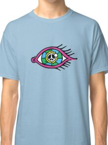 See The World Peacefully Classic T-Shirt