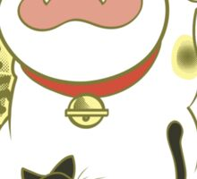 lucky cat Sticker