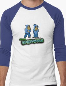 The Flight of the Conchords - The Hiphopopotamos Men's Baseball ¾ T-Shirt