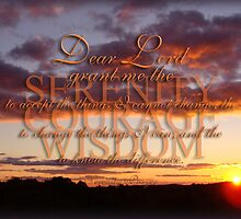 The Serenity Prayer  by vigor