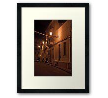 Quiet Night Framed Print