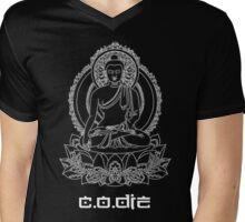 Buddha Onyx Mens V-Neck T-Shirt