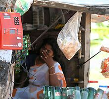 Rural telephone-Tamil Nadu state. India. by joshuatree2