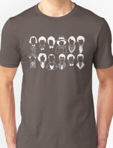 The Twelve Doctors - Doctor Who - White T-Shirt