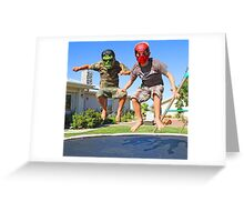 Marvel Us Greeting Card