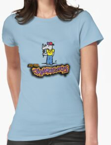 The Flight of the Conchords - The Rhymnoceros Womens Fitted T-Shirt