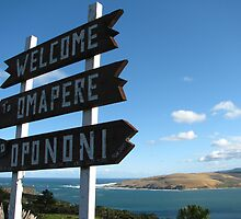 Welcome to Hokianga by Neil Crittenden