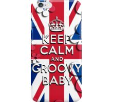 Keep Calm and Groovy Baby iPhone Case/Skin