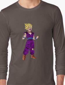 gohan super saiyan anime manga shirt Long Sleeve T-Shirt