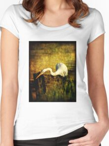 Bayou Hunt Women's Fitted Scoop T-Shirt