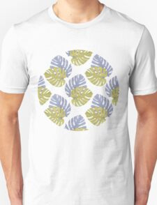 Monstera Leaves Pattern T-Shirt