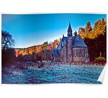 St Palladius' Church, Glen of Drumtochty Poster