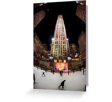 Rockefeller Center, New York City Greeting Card