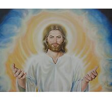 Loving Christ (full view) Photographic Print