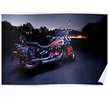 Kawasaki VN800 Motorbike Poster
