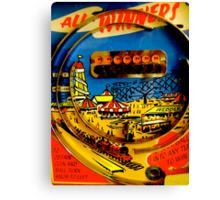 """All winners"" Penny Arcades Canvas Print"